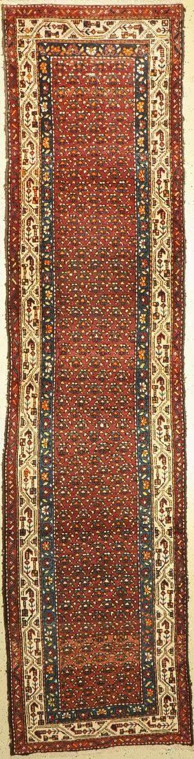 Hamadan antique, Persia, around 1920, wool on cotton