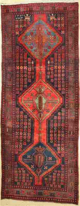 Kordi old (dated 1960), Persia, wool on cotton