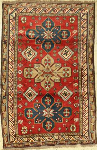 Ghuchan old, Persia, around 1950, wool on wool