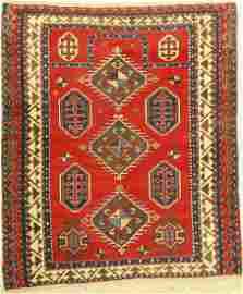 Borchalu prayer rug antique, Caucasus, mid 19th