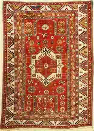 Kazak antique, Caucasus, around 1900, wool on wool
