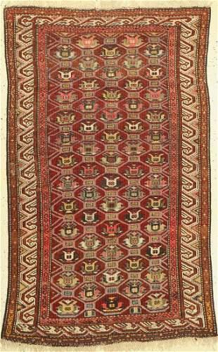 Kazak antique, Caucasus, around 1920, wool on wool