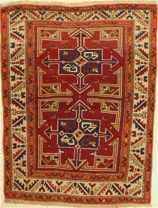 Bergama antique, Turkey, around 1920, wool on wool