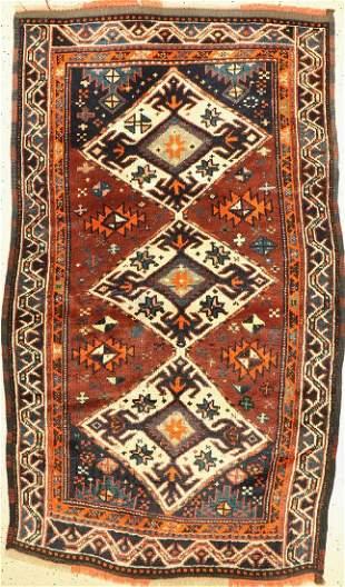 Yürük antique, Turkey, around 1920, wool on wool