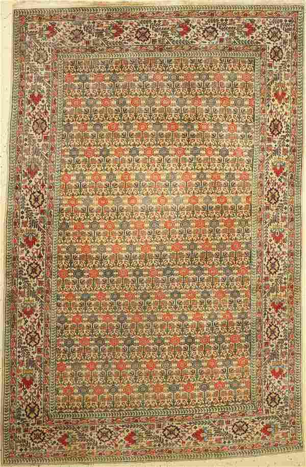 Old Tabriz, Persia, around 1940, wool on cotton