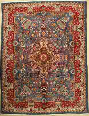 Kashmar old, Persia, approx. 60 years, wool oncotton