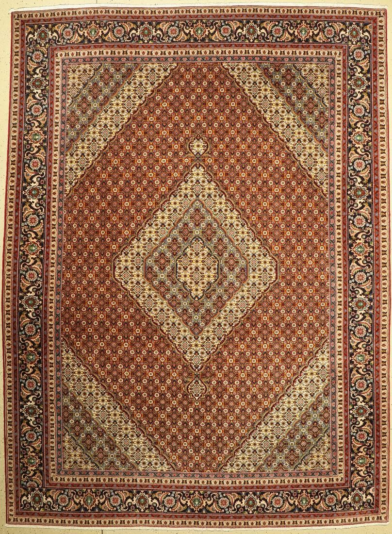 Tabriz fine, Persia, approx. 60 years, wool oncotton
