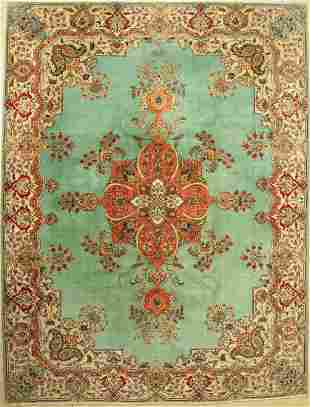 Old Tabriz, Persia, approx. 60 years, wool on cotton
