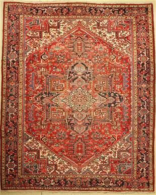Heriz old, Persia, around 1960, wool on cotton