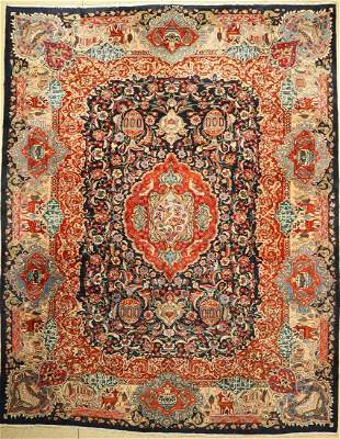 Kashmar old, Persia, approx. 60 years, on cotton