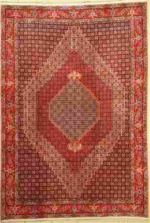 Senneh fine, Persia, approx. 40 years, wool oncotton