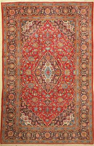 Kashan, Persia, approx. 50 years, wool on cotton