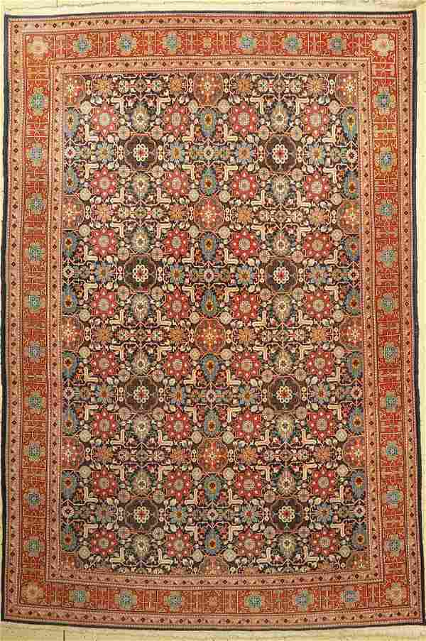Tabriz fine, Persia, around 1950, wool on cotton