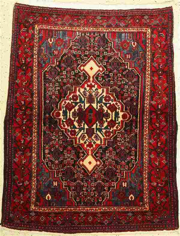 Senneh old, Persia, approx. 60 years, wool on cotton