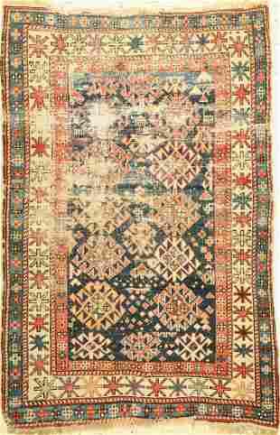 Kazak antique, Caucasus, late 19th century, wool on