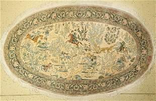 Tabriz fine (50 Raj), Persia, approx. 60 years, wool