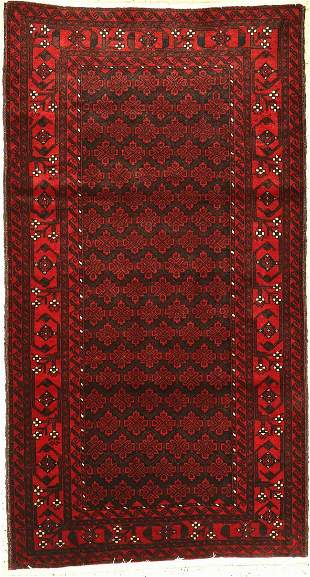 Baluch, Persia, approx. 50 years, wool on cotton
