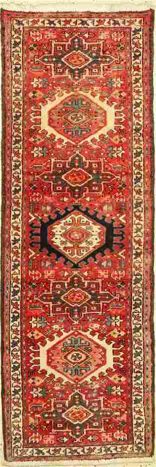 Garadjeh old, Persia, around 1960, wool on cotton