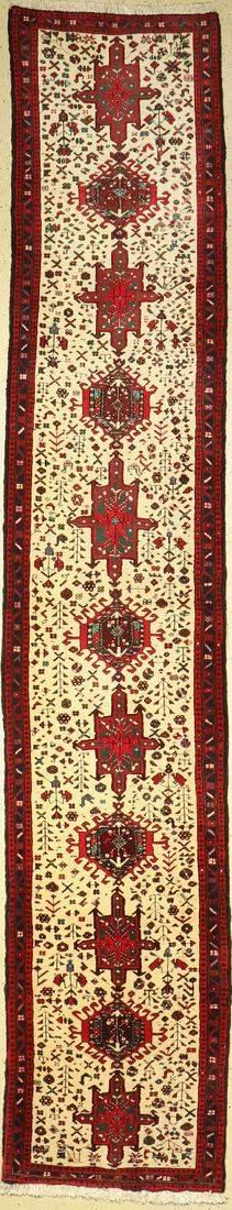 Karadjeh old, Persia, approx. 60 years, wool on cotton