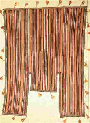 Nomad horse blanket old, Persia, around 1960, wool on