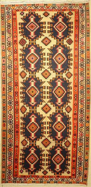 Bakhtiar kilim, Persia, approx. 60 years, woolon cotton