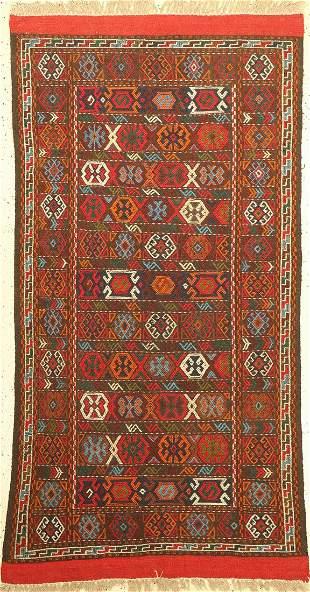 Gouchan Sumak, Persia, approx. 50 years, wool on wool