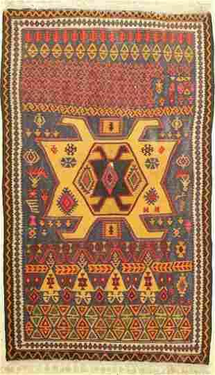 Bidjar kilim, Persia, approx. 60 years, wool on cotton