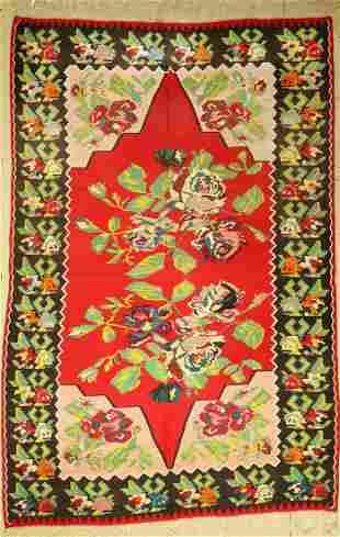 Karabagh Kelim, Caucasus, around 1950, wool onwool