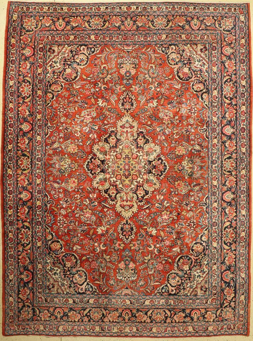 Saruk old, Persia, around 1960, wool on cotton