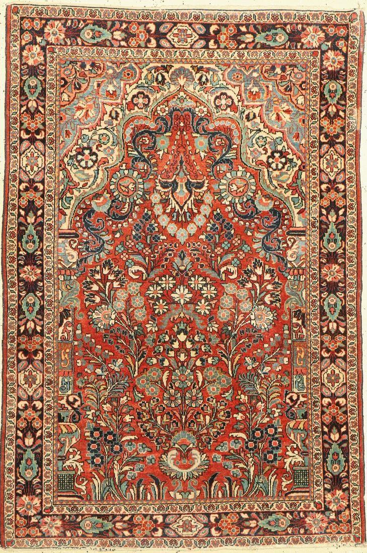 Saruk old, Persia, around 1940, wool on cotton