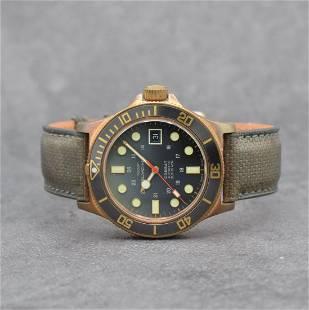 GLYCINE Combat bronze gents wristwatch