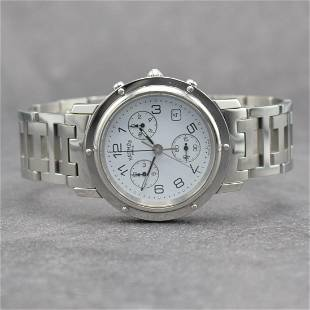 HERMES gents wristwatch with chronograph