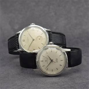 UNIVERSAL GENEVE & ETERNA-MATIC 2 gents wristwatches