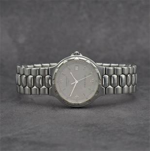 LONGINES Conquest gents wristwatch in steel