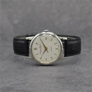 IWC gents wristwatch with calibre 852 in steel