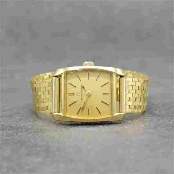 ETERNA-MATIC 18k yellow gold ladies wristwatch