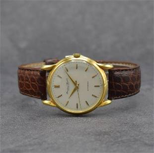 IWC 18k yellow gold gents wristwatch calibre 85