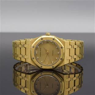 AUDEMARS PIGUET rare 18k yellow gold gents wristwatch
