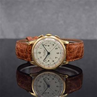 BREITLING 18k pink gold intermediate wheel chronograph