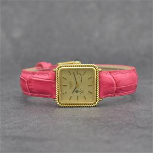 LONGINES 18k yellow gold ladies wristwatch