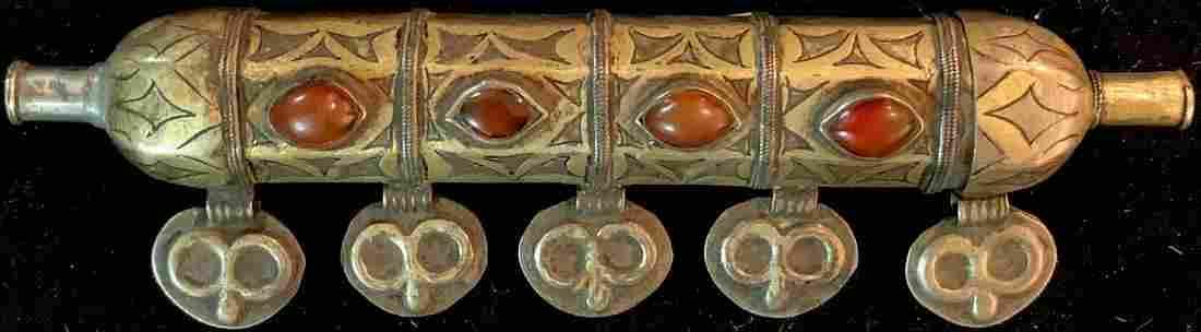 Tekke amulet case, (Bazbent), antique