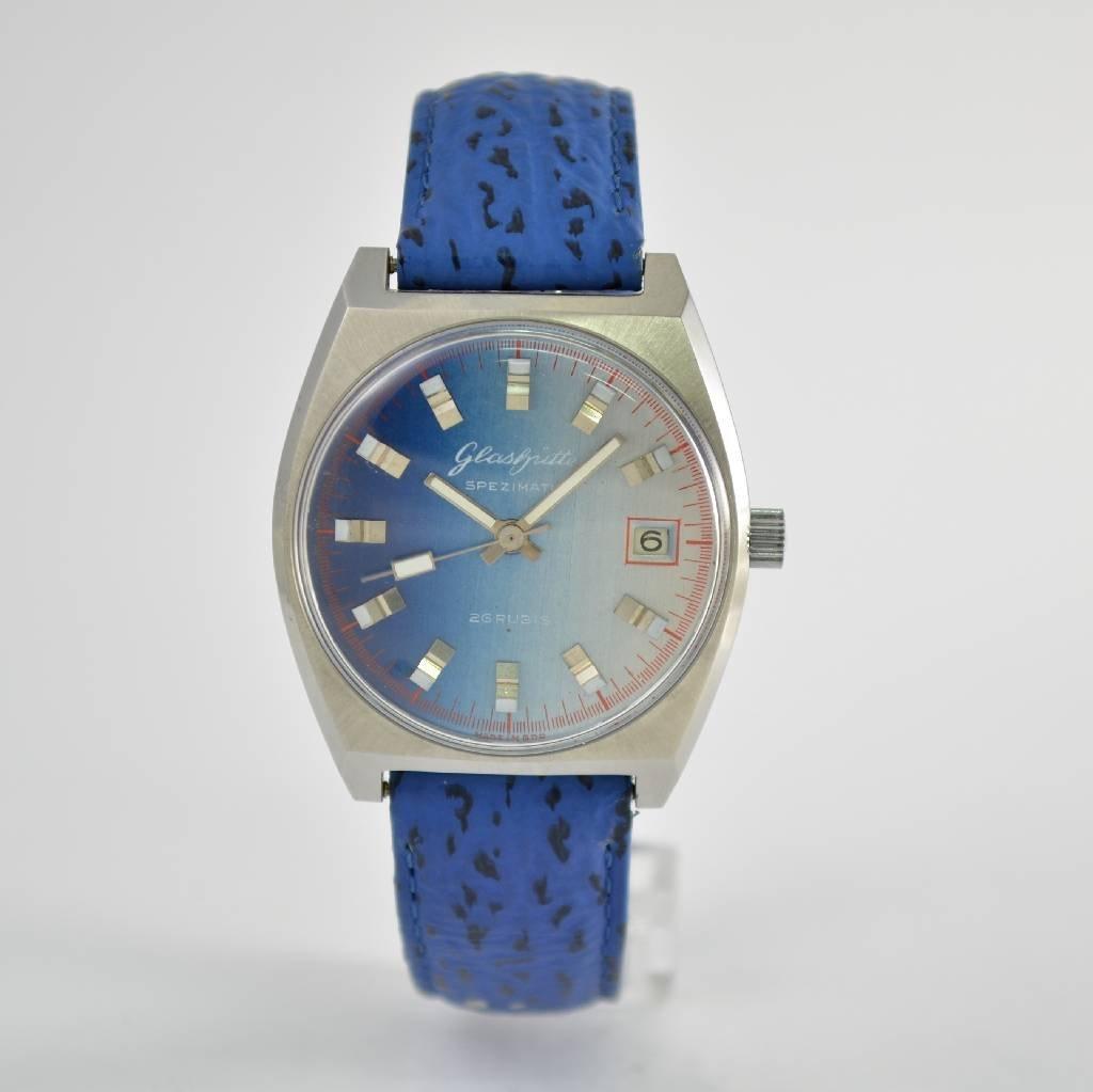 GLASHÜTTE Spezimatic gent's wristwatch calibre 75