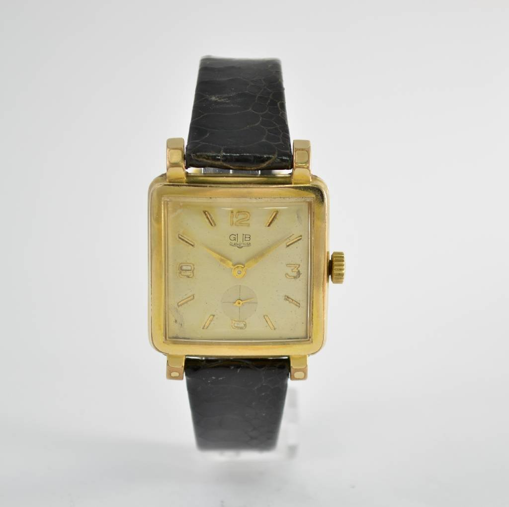 Set of 2 GUB wristwatches, Germany 1950´s