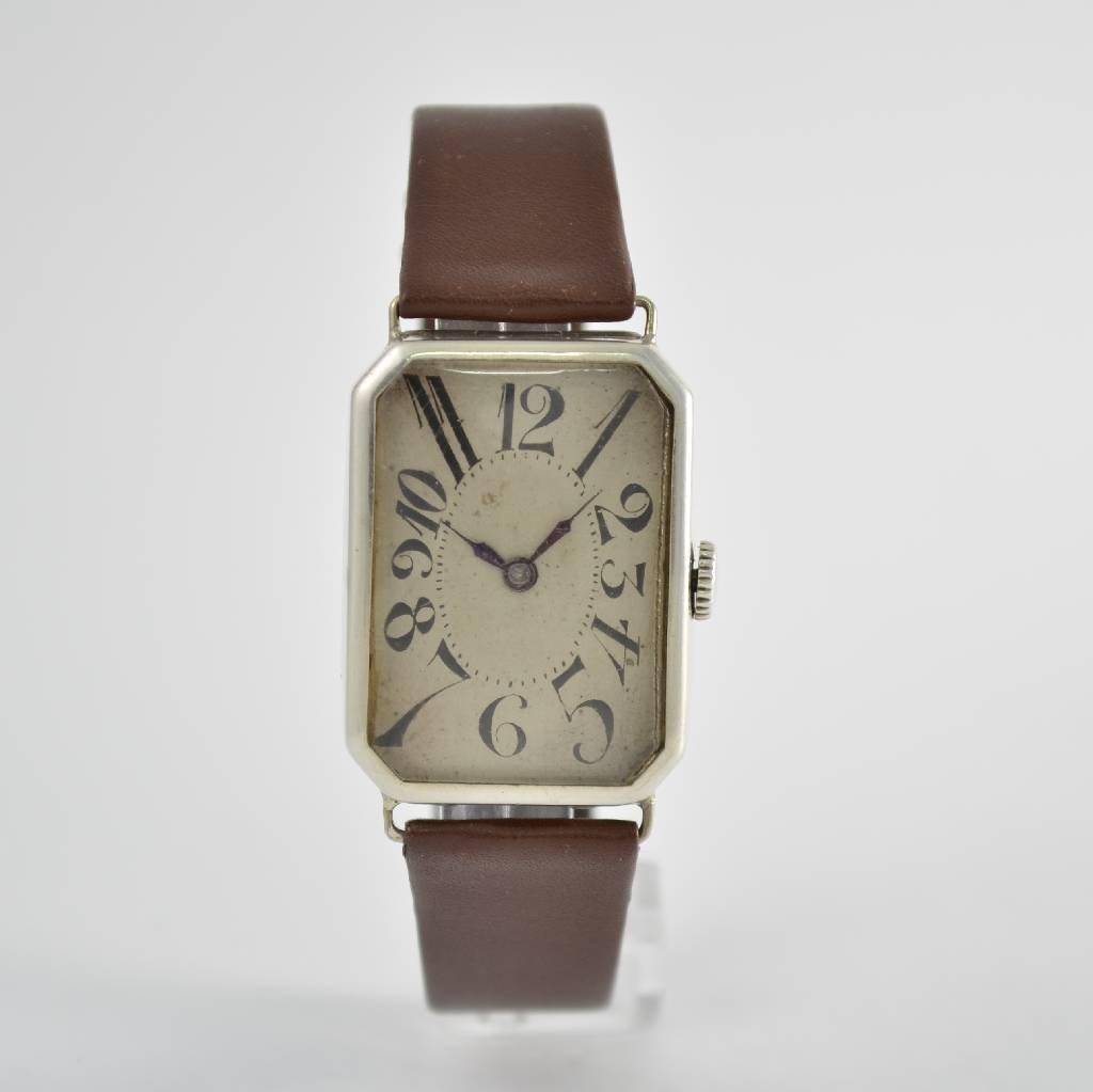 Early silver wristwatch, Switzerland around 1920