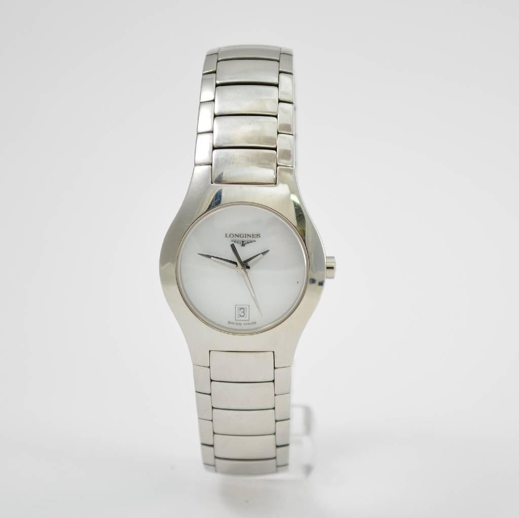 LONGINES lady`s wrist watch, Switzerland around 2003,