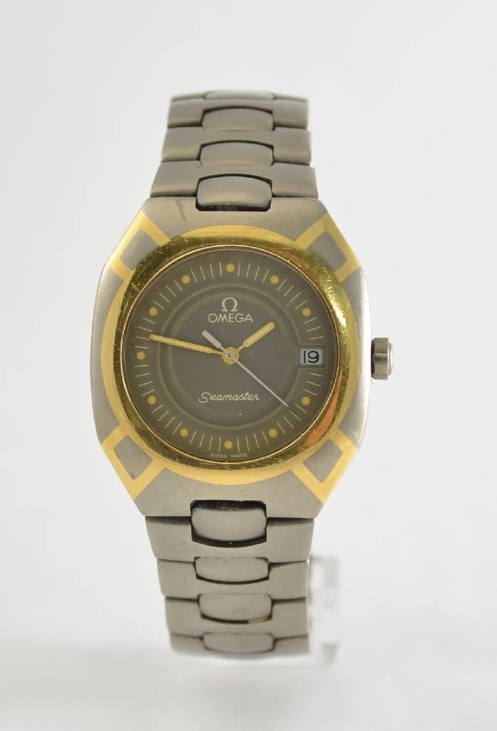 OMEGA Seamaster wrist watch, Switzerland 1990`s