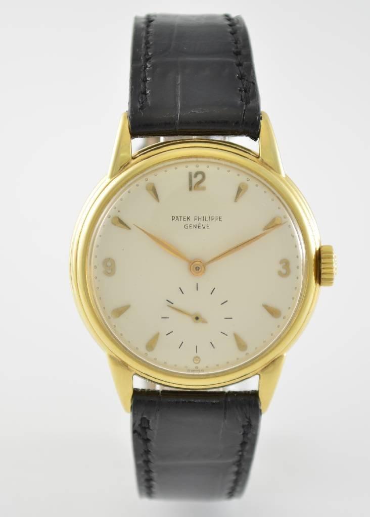 PATEK PHILIPPE rare gent´s wristwatch reference 2510