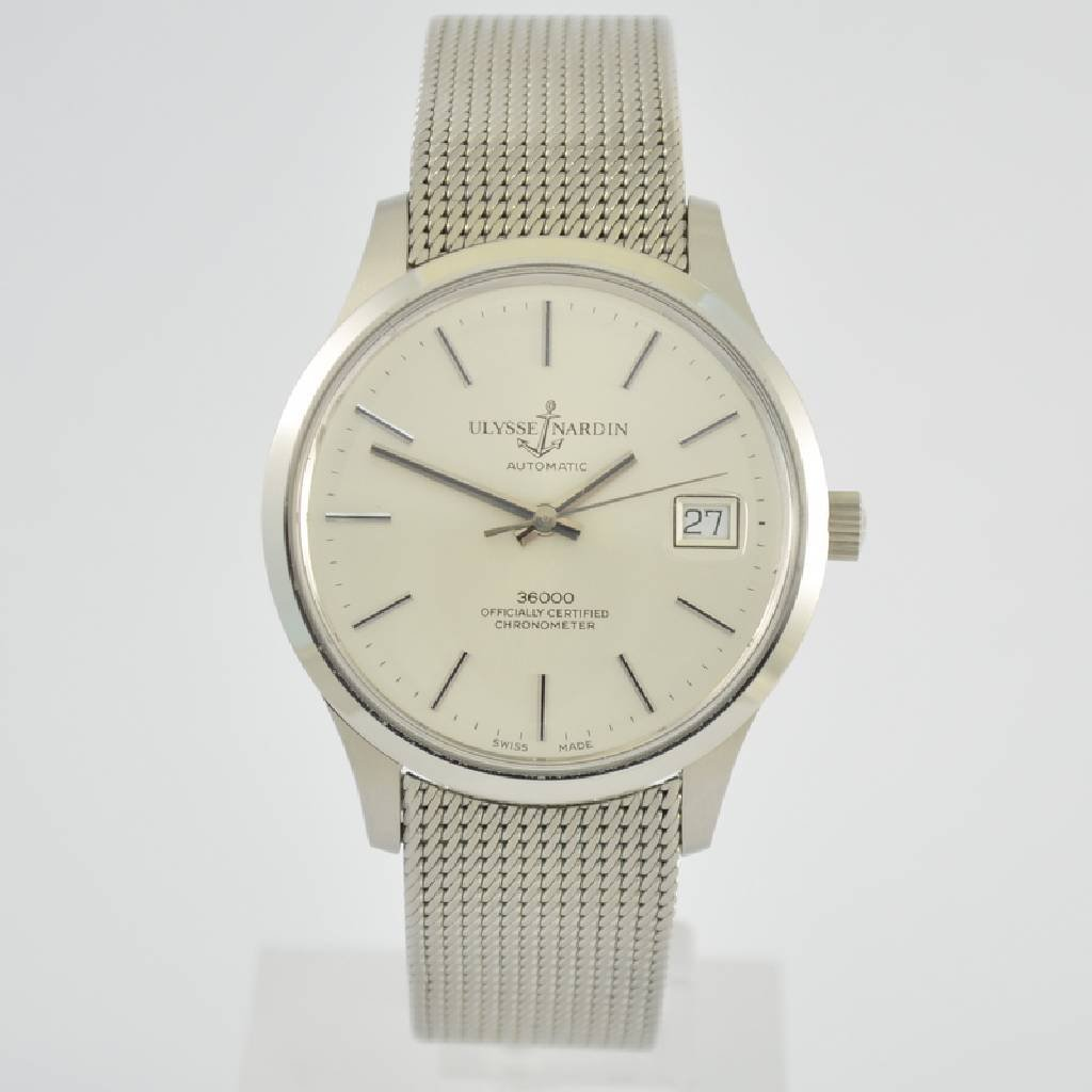 ULYSSE NARDIN chronometer gent's wristwatch 36000
