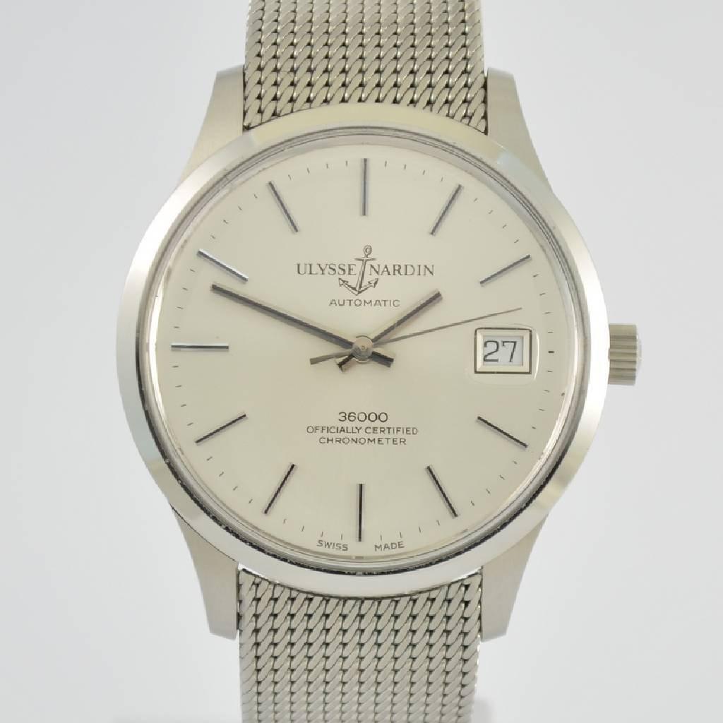 ULYSSE NARDIN chronometer gent's wristwatch 36000 - 2