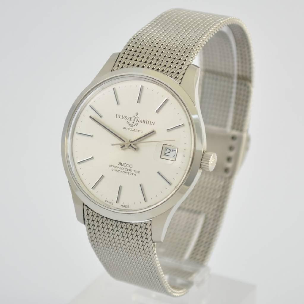 ULYSSE NARDIN chronometer gent's wristwatch 36000 - 3